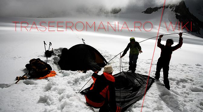 camping alpinism iarna