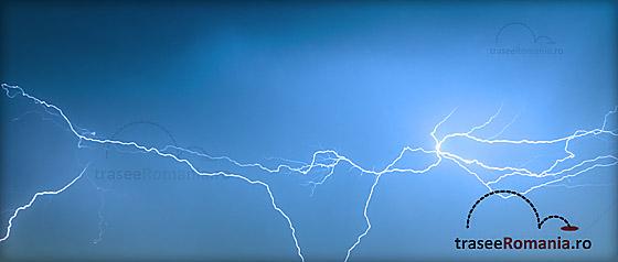 Furtuni, fulgerul si trasnetul