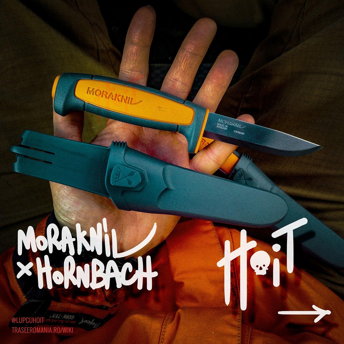 Cutit MORAKNIV editie limitata Hornbach