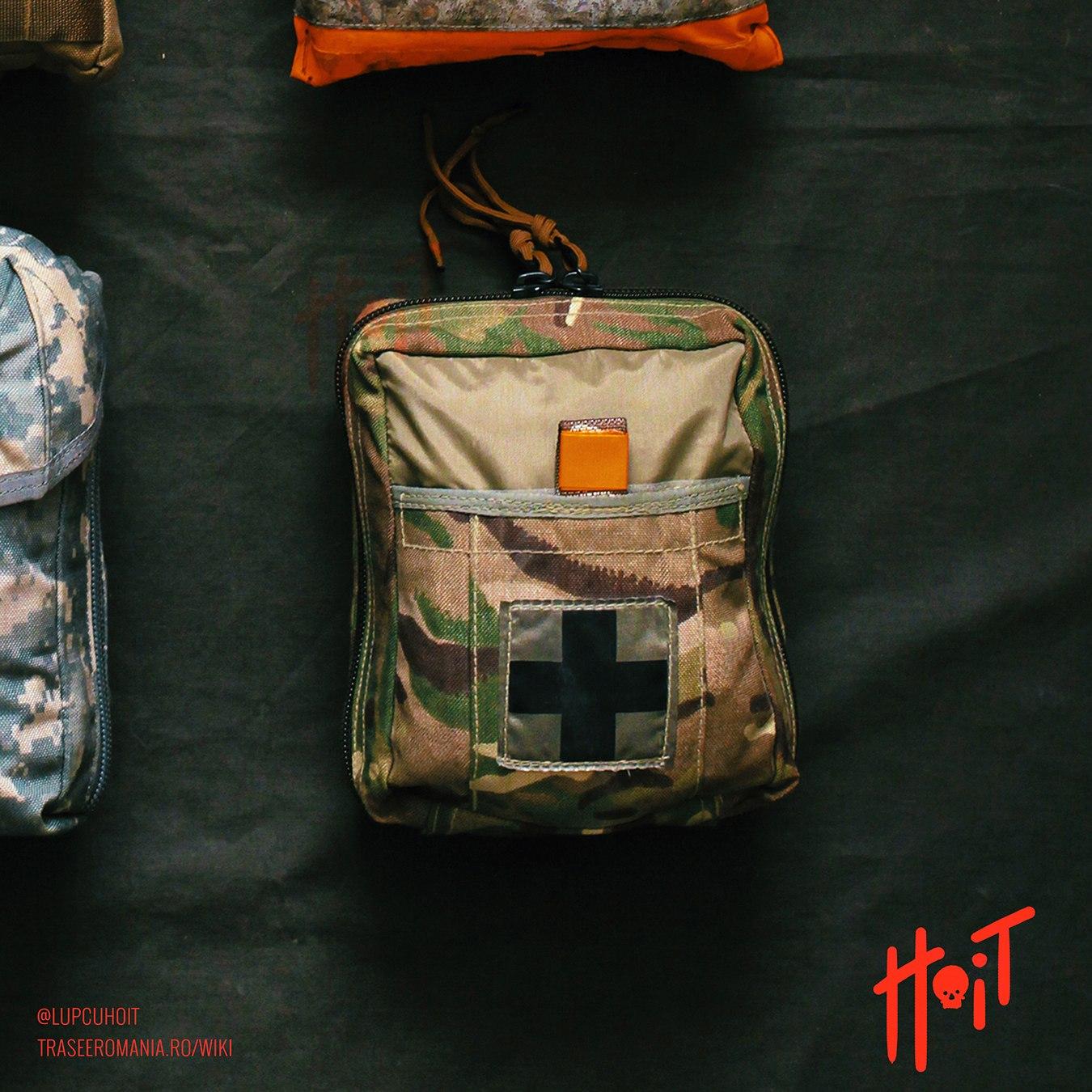 Trusa medicala in pouch militar