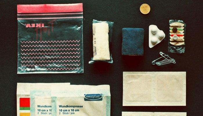 Trusa medicala de prim ajutor minimalista