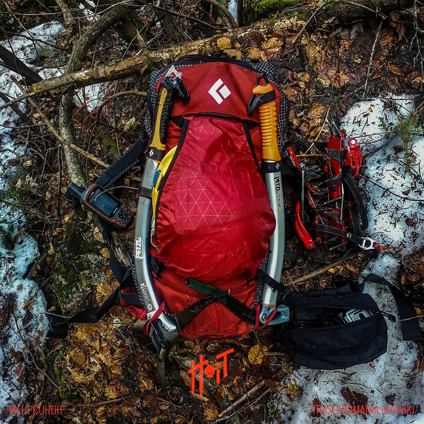 Lista echipament montan pentru alpinism si escalada